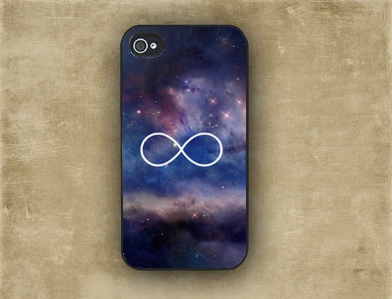 Iphone 5 Case Iphone 4 Case Infinity Symbol Stars Galaxy Space